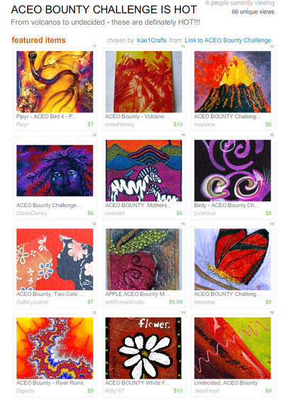 ACEO Bounty Challenge is HOT  Treasury