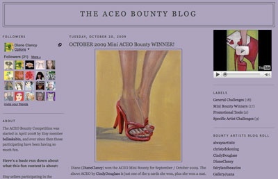 The ACEO Bounty Blog