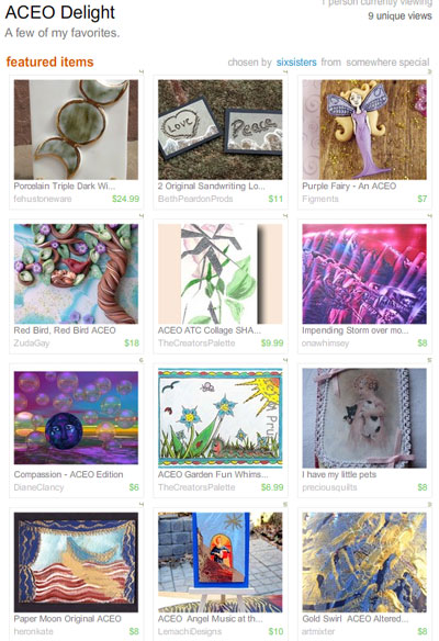 ACEO Delight Treasury