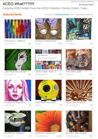 ACEO What???? Treasury