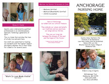 Anchorage Nursing Home Flyer - front