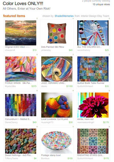 Color Loves ONLY!!! Treasury