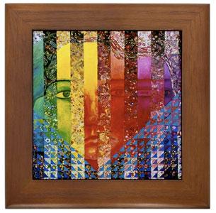 Conundrum I, Framed Tile