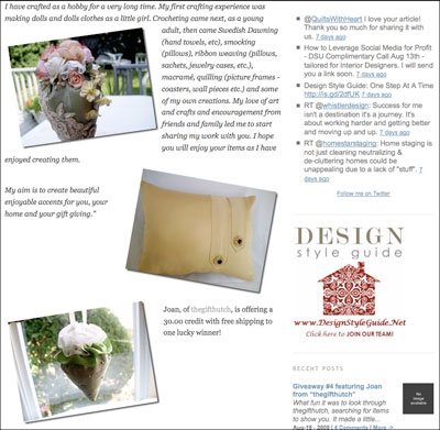 Design Style Guide Giveaway #4