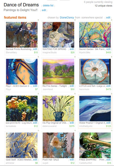 Dance of Dreams Treasury