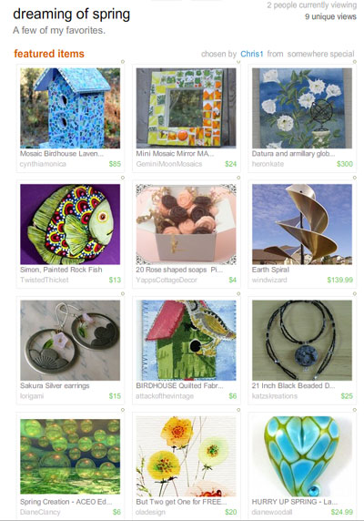 Dreaming of Spring Treasury