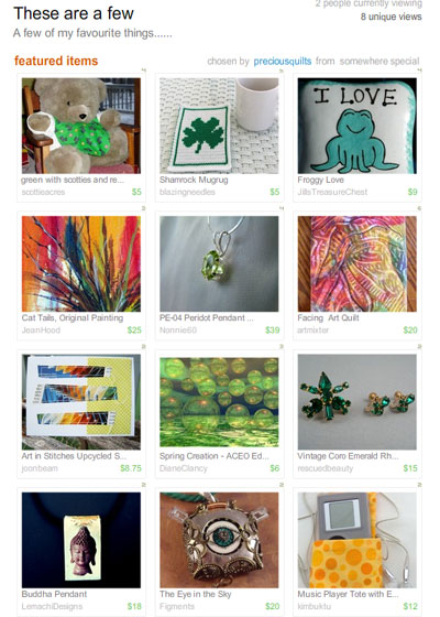 Favorite Things Treasury