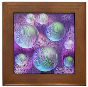 Inner Flow II Framed Tile