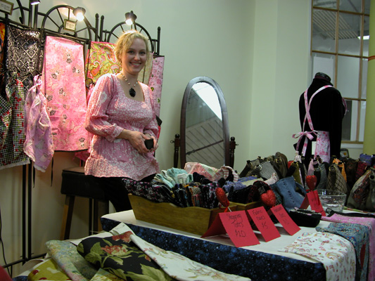 Karen at Handmade With Love Fair