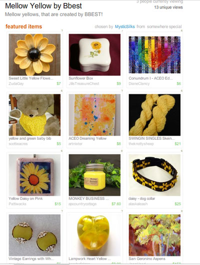 Mellow Yellow by Bbest Treasury