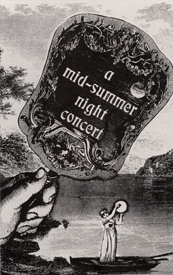 A Mid-Summer Night Concert Program