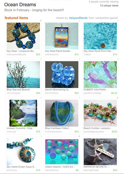 Ocean Dreams  Treasury