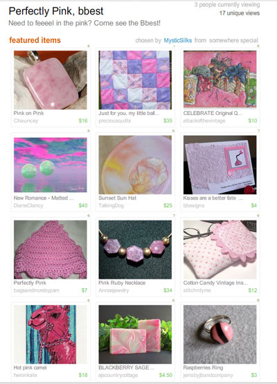 Perfectly Pink bbest Treasury