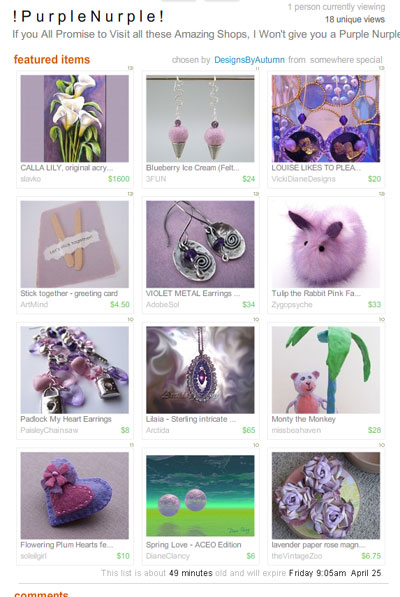 !PurpleNurple! Treasury