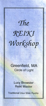 Reiki Flyer - cover