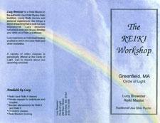 Reiki Flyer - front