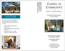 Caring In Community Flyer - front