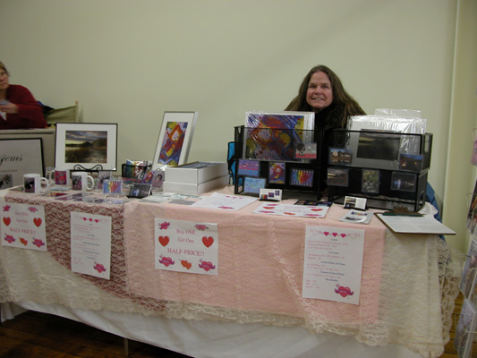 Susan at Handmade With Love Fair