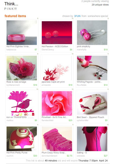 Think... Pink  Treasury