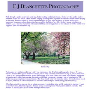 Ellen Blanchette's Web Site