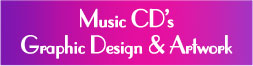 Music CD's Graphic Design & Artwork