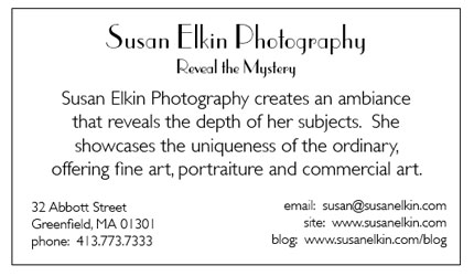 Susan's Business Card Back