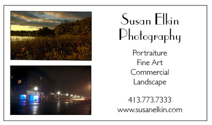 Susan's Business Card