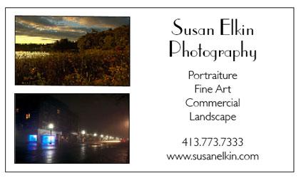 Susan's Business Card