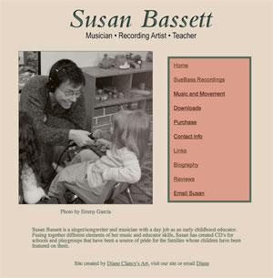 Susan Bassett Web Site