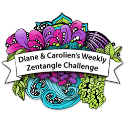 Diane & Carolien's Weekly Zentangle Challenge